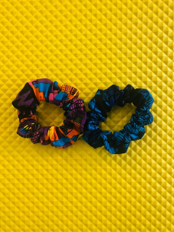 Cotton Ankara scrunchies, 3 scrunchies pack 3