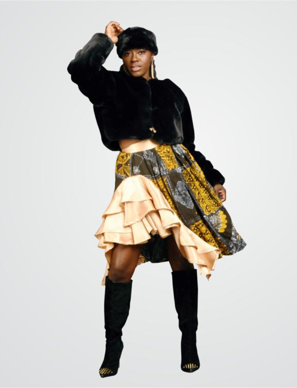 Adire skirt